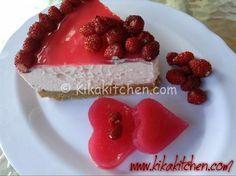 Cheesecake alla fragola (senza cottura in forno)