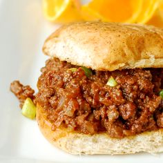 These Sloppy Joes have quickly become a favorite because they are just so so good~Becky Bakes