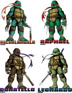 TMNT (Teenage Mutant Ninja Turtles) together now! PSD, vector ...