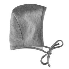 Amoureux Bebe Ultra Soft Comfort Turkish Cotton Grey Tagless Baby Bonnets Hats. (12-18 months)