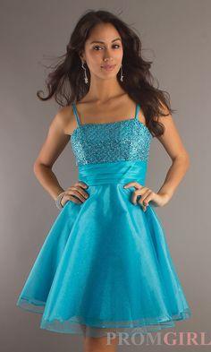 semi dresses, short semi formal dresses, straps prom dresses, cheap p Short Semi Formal Dresses, Semi Dresses, Sweet 16 Dresses, Dresses For Teens, Pretty Dresses, Short Dresses, Blue Dresses, Dance Dresses, Formal Outfits