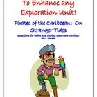 FREE and great to use with Exploration!!! This 20 question handout was created as a before and during viewing guide for the Disney movie, Pirates of the Caribbean: On Stranger Tides (PG-13). Half of the questions are to be answered before the students view the movie (questions are marked before or after).