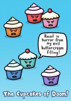 Cupcake Poster - Detailed item view - Genki Gear