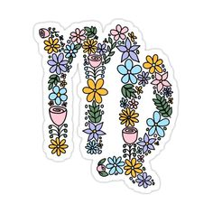 Cute Virgo Zodiac Symbol Sticker by karinapezeshkan