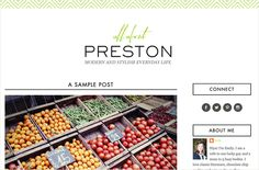 Preston - Designer Blogs
