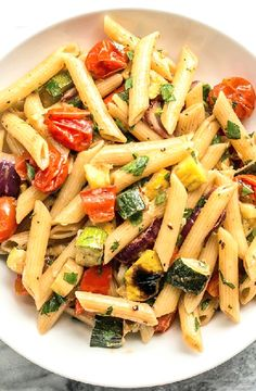 Low FODMAP Recipe and Gluten Free Recipe - Vegetable pasta   http://www.ibs-health.com/low_fodmap_vegetable_pasta.html