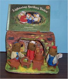Absolute favourite. The Woodsies, Finger puppets living in a velcro log. Amazing.