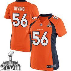 Nate Irving Limited Jersey-80%OFF Nike Nate Irving Limited Jersey at Broncos Shop. (Limited Nike Women's Nate Irving Orange Super Bowl XLVIII Jersey) Denver Broncos Home #56 NFL Easy Returns.