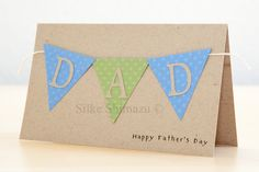 Father's Day Card featuring banner
