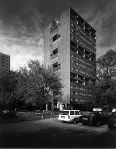 EUD   Van den Broek & Bakema: Bartningallee 7, Hansaviertel Berlin   1959-1960