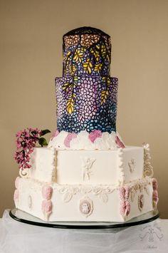 Violeta - Cake by Custom Cakes Atelier (Leyda Vakarelov)