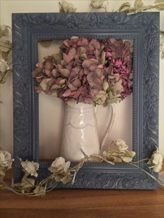 Wooden Picture Frame finished in Annie Sloan Old Violet and Clear Wax Small Chalkboard, Chalkboard Decor, Small Picture Frames, Wooden Picture Frames, Painted Couch, Painted Furniture, Interior Design Themes, Pink Chalk, Chalk Paint Projects