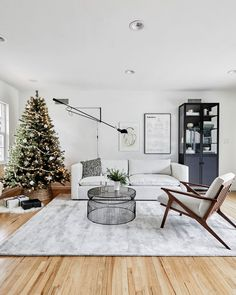 Our Holiday Living Room (Or Sitting Room!) Reveal - Homey Oh My