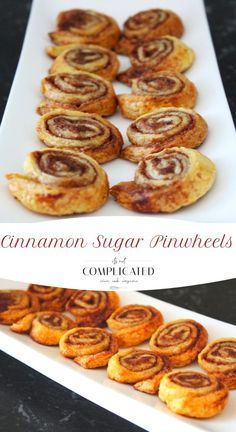 You Have Meals Poisoning More Normally Than You're Thinking That Cinnamon Sugar Puff Pastry Pinwheels Pastry Recipes, Cookie Recipes, Dessert Recipes, Brunch Recipes, Drink Recipes, Bread Recipes, Baking Recipes, Breakfast Recipes, Puff Pastry Pinwheels