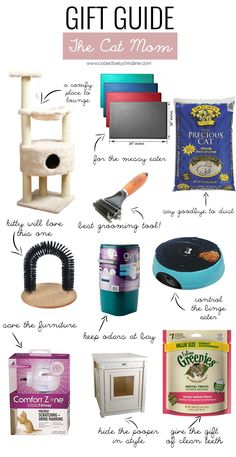 Gift Guide The Cat Mom. This Gift Guide is perfect for the cat mom who wants to keep her home clean and her kitty happy.