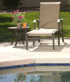 The Ideal Pool Furniture - what to look for when purchasing outdoor furniture that will be placed around a pool.