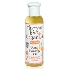 Buy Mumma Love Organics Soothing Baby Massage Oil 100ml and other Mumma Love Organics products at LoveLula - The World's Natural Beauty Shop. FREE Delivery Worldwide.