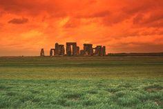 HOTEL AND TOURISM: stonehenge sunset wallpaper