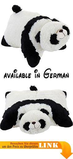B002ZL1Y4I : Pillow Pets Panda [UK Import]. Perfekt für jedermann zu jedem Alter. Maschinenwaschbar Pad trocken extra saugfähig.. Hergestellt von den Original My Pillow Pets. Entspricht ASTN und EN71Vorschriften mit. #Toy #TOYS_AND_GAMES
