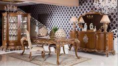 Torres Lüks Klasik Yemek Odası Takımı.  #YemekOdası #DiningRoom #Decoration #Ev #Dekorasyon #Moda #Mobilya #Furniture