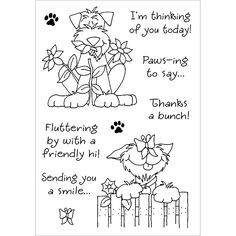 inky antics delightful dogs #3 - Google Search
