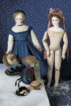 View Catalog Item - Theriault's Antique Doll Auctions french fashion dolls, 16""