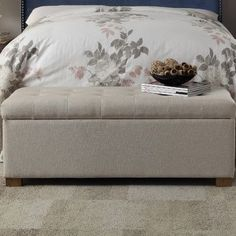 Felicity Tufted Storage Bench at Joss & Main - With Great Deals on all products and Free Shipping on most stuff, even the big stuff.