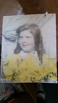 My grandma CLAUDETTE VAIZA