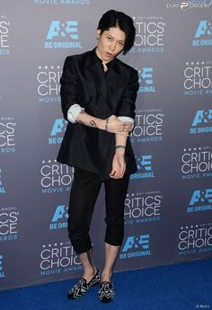 Miyavi at Critics' Choice Movie Awards 2015. Talented Musician and actor.