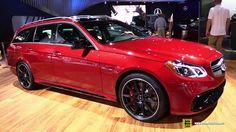 2015 Mercedes-Benz E-Class E63 S-AMG Wagon - Exterior and Interior Walka...