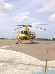 Fueling at KGPM the other day. #EMS #HEMS #helicopter