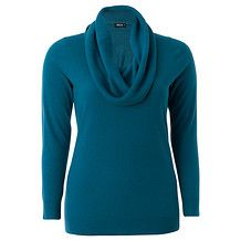 MODA Supersoft Cowl Neck Jumper - Blue Cowl Neck, Jumper, High Neck Dress, Turtle Neck, Clothes For Women, Lady, Sweaters, Blue, Collection