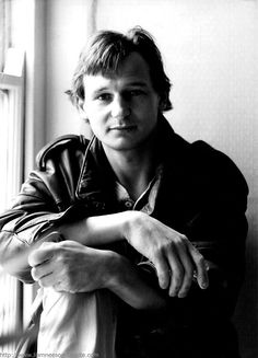 A very handsome and young Liam Neeson.