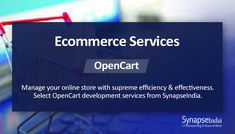 SynapseIndia provides OpenCart development services since year 2010 it was released. Hire OpenCart developers for opencart website, app, extension development. Ecommerce Solutions, Peace Of Mind, Platforms, Online Business, Cart, Software, Mindfulness, Range, Watch