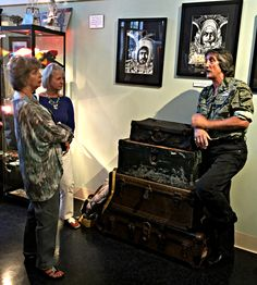 The Visitor Center staff recently toured Savannah's newest museum - The Webb Military Museum.  Owner Gary Webb has assembled a phenomenal collection of military memorabilia dating from the Civil War to Iraqi Freedom.