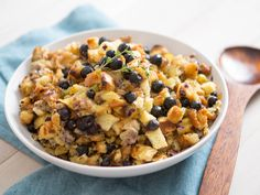 BLUEBERRY STUFFING: Tired of the same old stuffing? Make a little change this holiday by adding some blueberries to your favorite Thanksgiving recipes.