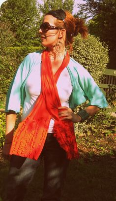 HUNGRYHIPPIE: Sewing Clothes: Quickie Bolero Knit Top