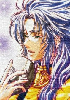 Saint Seiya (聖闘士星矢)・Pope Saga #anime #fanart                                                                                                                                                                                 Más