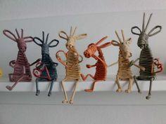 Veselá banda vianočných sobíkov:) / Artmama.sk / Christmas reindeers crew:))