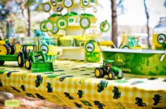 John Deere Tractor Party. See more at www.karaspartyideas.com