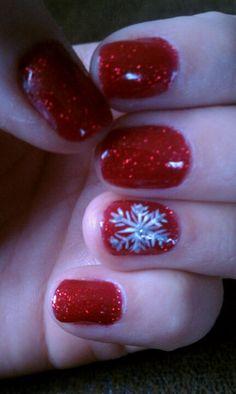 Christmas Nails Shellac Nail Art Been Doing Nails For 14years This