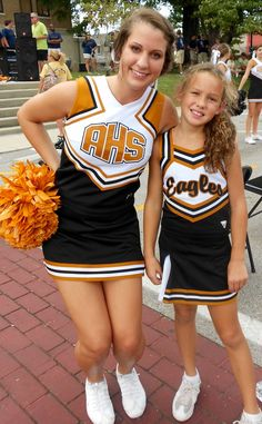 Attended all Pep rallies on the square supporting my daughters and AMS & AHS Cheer in 2011 Athens, AL