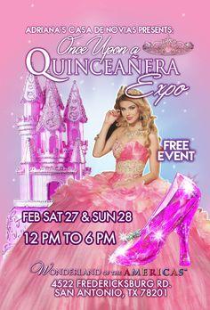 Expo Quinceanera Feb 27 & 28, 2016  in Wonderland Mall 4522 Fredericksburg San Antonio Tx 78201