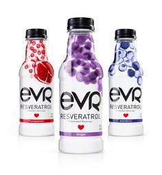 EVR - The Dieline - love the use of the fruit cascading down. Extremely eye catching!