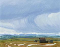 Foothills by Doris McCarthy History Of Modern Art, Group Of Seven, The Loch, Colour Inspiration, Canadian Artists, Dory, Amazing Art, Canada, Paintings