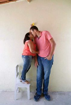 This Mismatched Couple Prove That Love Is Blind  16 Pics
