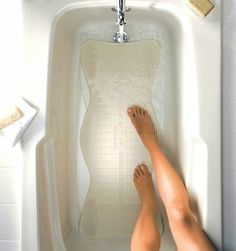 Ahhh, massaging bathmats. | 11 Things That Will Change Your Bathroom Experience Forever