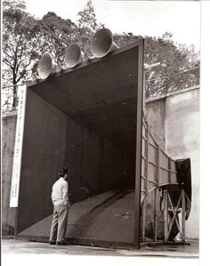 worlds biggest loudspeaker even if you whisper you can her it a mile away
