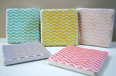 I am really having a chevron moment right now. There is something so classic yet fun about this pattern.
