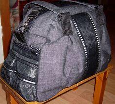 630f8748f5040 Kugeltasche nach Taschenspieler-Anleitung in Jeans schwarz